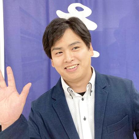 佐藤マネージャーの笑顔